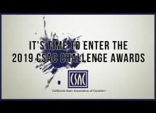 Enter the 2019 CSAC Challenge Awards