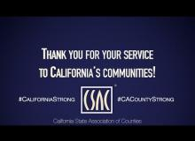 CA Counties Provide Vital Services